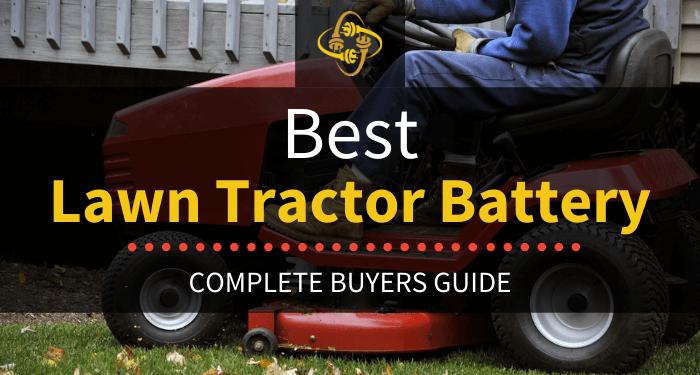 Best Lawn Tractor Battery