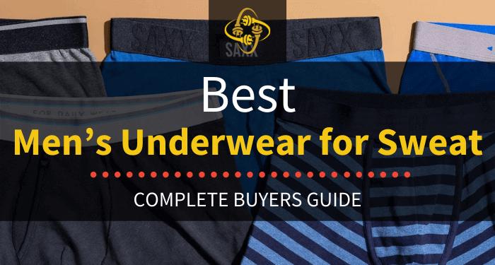 Best Men's Underwear For Sweat