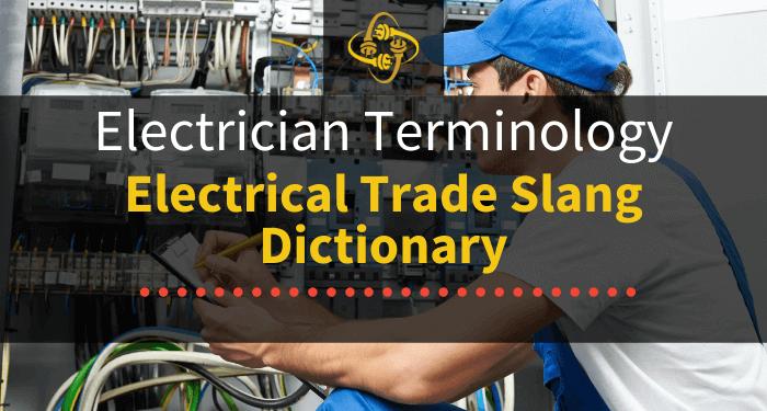 electrician terminology