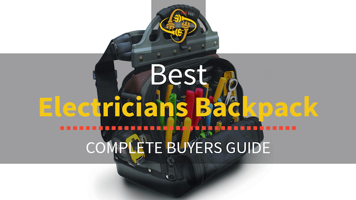 Best Electricians Backpack